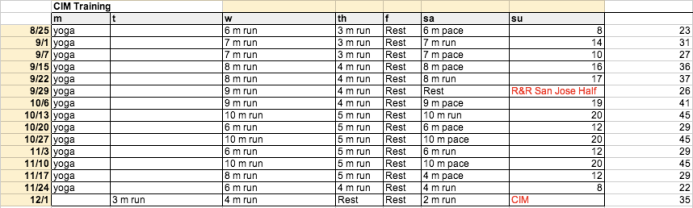 CIM training. Am I crazy? Sub 4 is nuts.