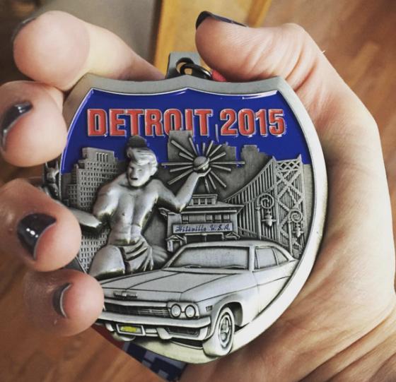 Detroit_Marathon_Medal_2015