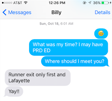 texting billy